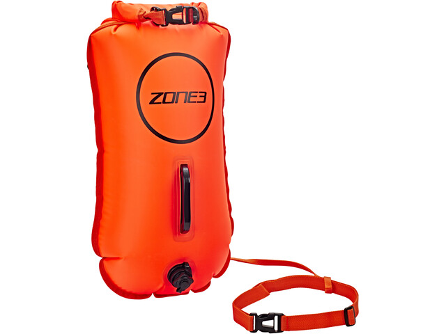 Zone3 Swim Safety Buoy Dry Bag 28L, orange